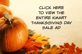 kmart thanksgiving doorbusters and black friday deals