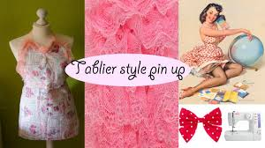 fabriquer un tablier de cuisine diy comment faire un tablier style pin up