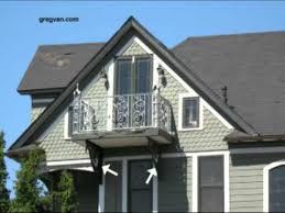decorative non structural balcony supports victorian home design