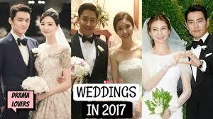 11 korean celebrities who got married in 2017 so far jan jul