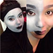 Halloween Glamour Makeup Collection Grayscale Halloween Costume Pictures Grayscale In A