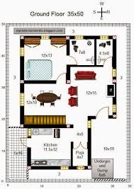 South Facing House Floor Plans My Little Indian Villa 52 R45 3bhk Duplex In 35x50 East Facing
