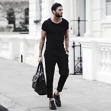 all black casual 40 all black for bold fashionable looks