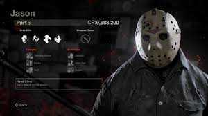 all versions of jason highlighted in