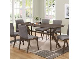 coaster mcbride retro dining room table dunk u0026 bright furniture