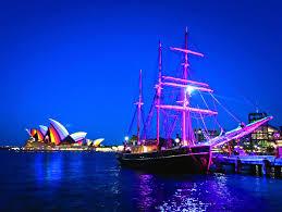 sydney harbor dinner cruise sydney festival and ship dinner cruise on sydney
