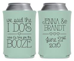 wedding koozie ideas 18 of the funniest wedding koozies that guests will want to keep