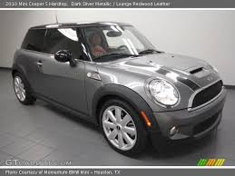 2010 Mini Cooper Interior Dark Silver Metallic 2010 Mini Cooper S Hardtop Lounge Redwood