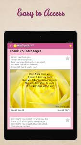 thank you messages letters u0026 notes share images android apps