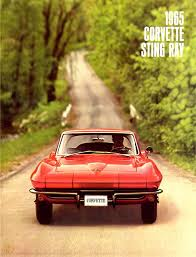 corvette world articles 1965 corvette dealers sales brochure