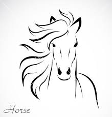 Horse Tattoo Ideas Best 25 Horse Head Drawing Ideas On Pinterest Horse Sketch