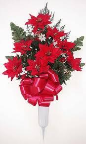 christmas flower arrangements christmas flower arrangements for cemeteries and