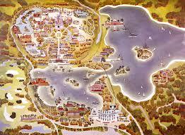 walt disney resort map vintage walt disney maps of walt disney resort