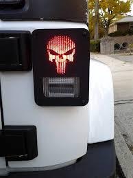 custom jeep tail light covers punish em jeep wrangler jk model tail light guards 2pc set