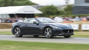 maserati spyder 2018 granturismo at goodwood