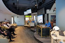 Skype Headquarters New Microsoft Technology Center Opens In Houston Highlights