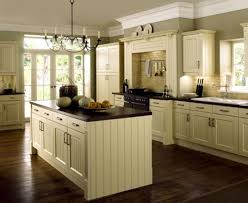 kitchen fascinating cream kitchen cabinets with black