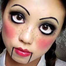creepy doll costume last minute makeup ideas makeup makeup