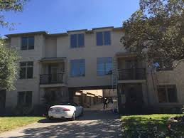 Home Exterior Cleaning Services - town homes exterior windows cleaning service in highland park tx