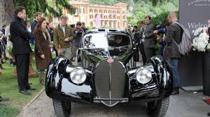 bugatti type 57sc atlantic bbc autos classics of the concorso d u0027eleganza