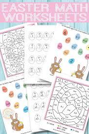 easter math worksheets free kids printables math worksheets