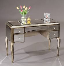 Silver Bedroom Vanity Furniture Interesting Hayworth Vanity For Inspiring Makeup
