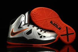 well known for quality lebron x basketball shoes silver