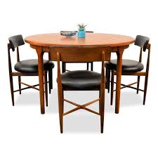 vintage dining set in teak by victor wilkins for g plan for sale
