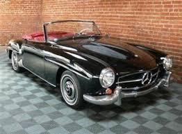 mercedes sl 190 purchase 1962 mercedes 190 sl roadster black