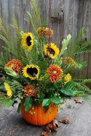 thanksgiving floral arrangements diy