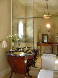 Colors For Powder Room Wood Accent Wall And Ceiling Oval Shape White Bathtub Sheer