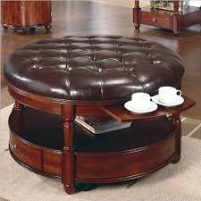 sofa storage footstool large ottoman grey leather ottoman
