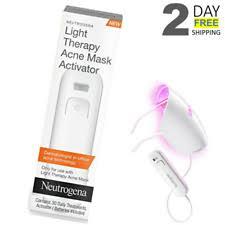 neutrogena light mask activator unlimited use neutrogena light therapy acne mask activator ebay