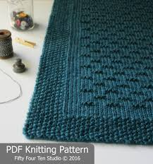 knitting pattern flint hills blanket throw afghan knit
