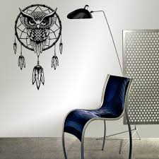 Owl Wall Sticker Aliexpress Com Buy Funlife Indian Dream Catcher Decor Wall
