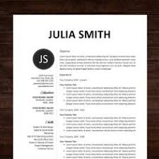 awesome resume templates free instant resume cv template the smith