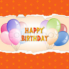 happy birthday greeting banners with celebration elements fun