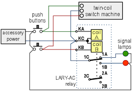 bistable dpdt latching relay with terminals