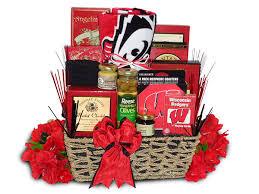 wisconsin gift baskets badger fan for gift basket wisconsin gift baskets badgers