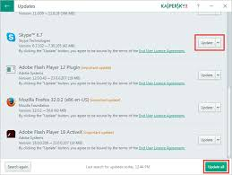 kaspersky software updater tool that updates applications