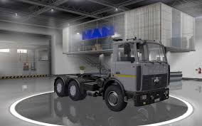 maz car maz 6422 truck interior v1 0 euro truck simulator 2 mods