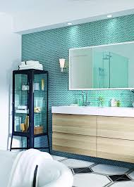 Blue Green Turquoise Bathroom Decor Space Saving Modern by Best 25 Bathroom Feature Wall Ideas On Pinterest Freestanding