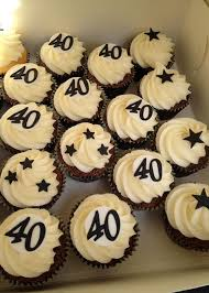 40th birthday cupcakes for men 40th birthday cakes for men what