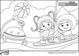 team umizoomi coloring book coloring pages