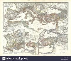 Pompeii Map Mediterranean Region Map Stock Photos U0026 Mediterranean Region Map