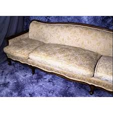 french chaise lounge sofa widdicomb furniture mid century french provincial sofa aptdeco