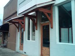 Cool Awnings Front Door Cool Front Door Awnings Wood For Home Design Wooden