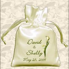 personalized wedding favor bags bridal bags personalized drawstring favor bags