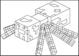 nice decoration printable minecraft coloring pages 13 of print