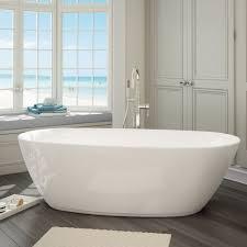Free Standing Bathroom Mirrors Uk by Bathroom Terrific Oval Freestanding Bathtub Photo Oval